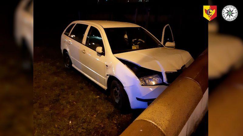 Dvacetiletý řidič ujížděl Prahou v pantoflích. Měl dvě promile