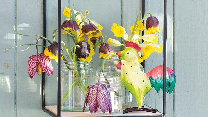 Ozdobte si na Velikonoce domácnost i zahradu půvabnými řebčíky