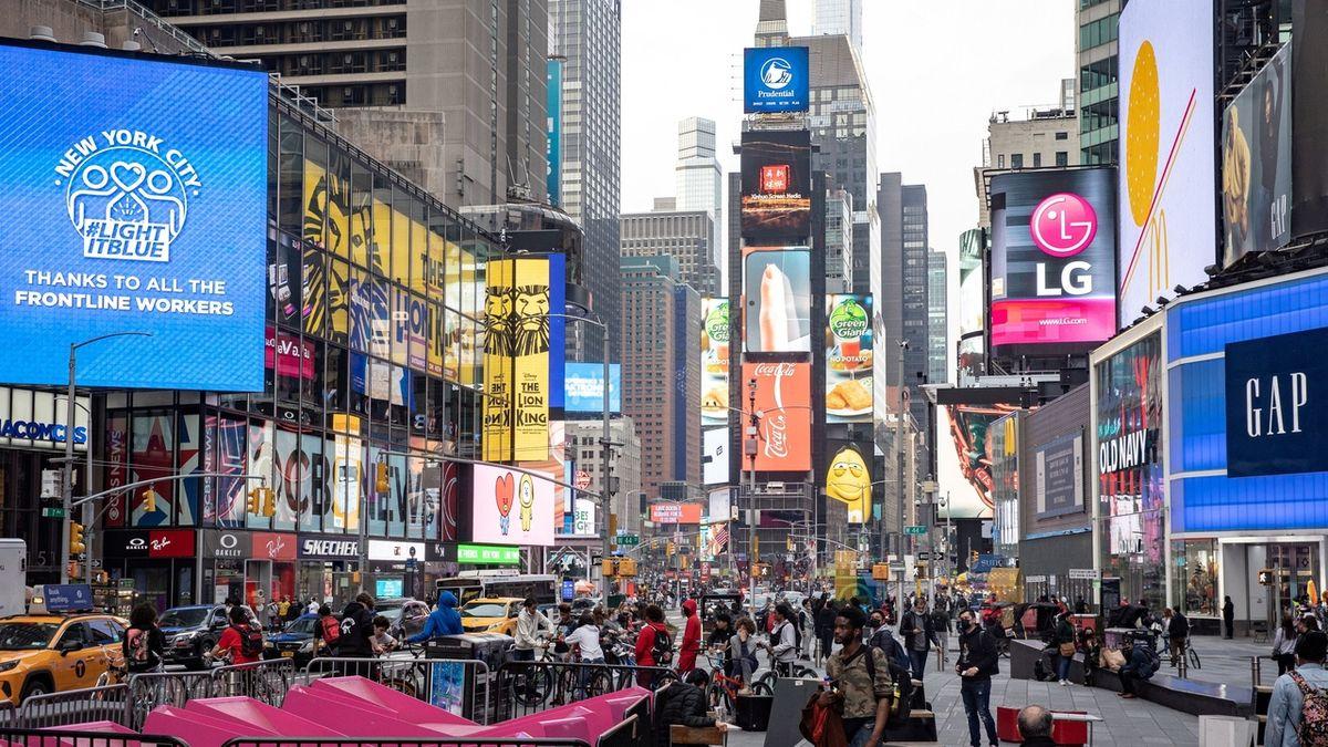 New York se v červenci vrátí k normálnímu životu