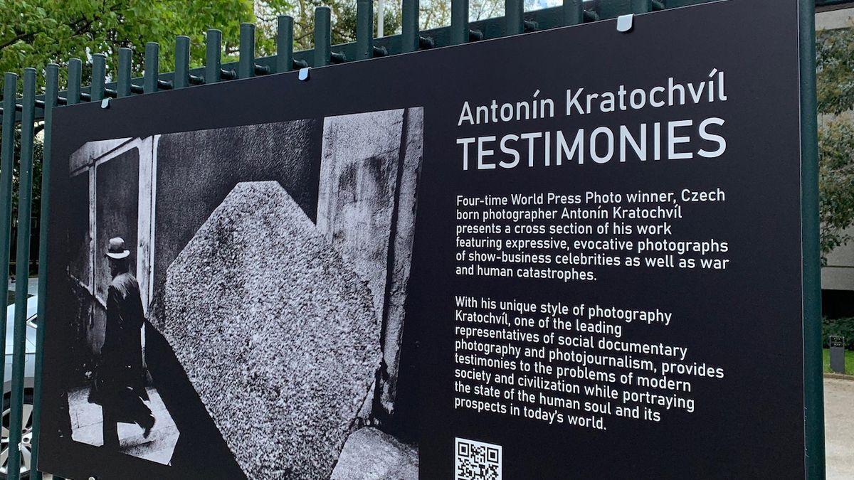 Londýňanům se představí fotografie Antonína Kratochvíla