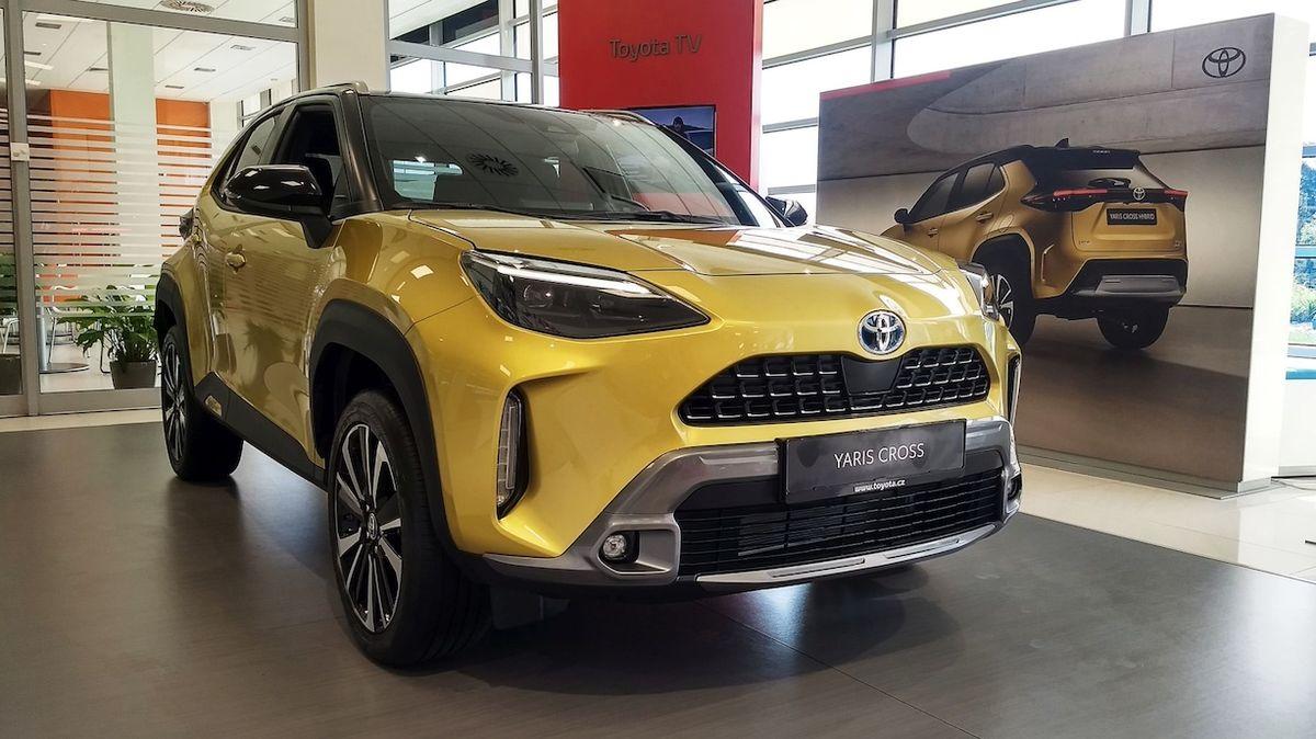 Toyota Yaris Cross poprvé naživo: Zaujme zavazadelníkem i novým infotainmentem