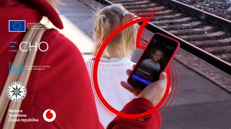 Aplikace ECHO pomáhá při pátrání po pohřešovaných dětech