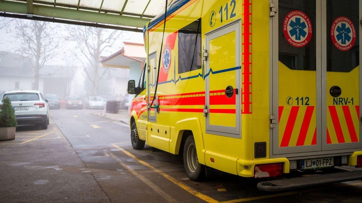 Při nehodě ve Slovinsku zemřel český řidič dodávky