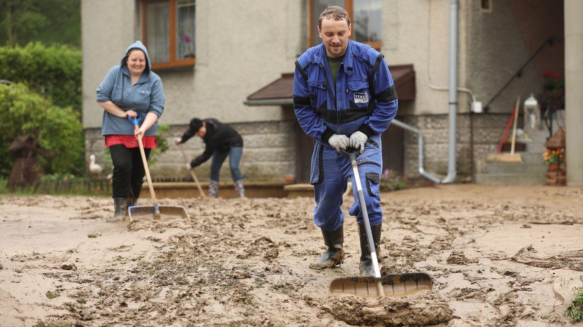 Bahno zaplavilo obec na Opavsku dvakrát během dvou dní