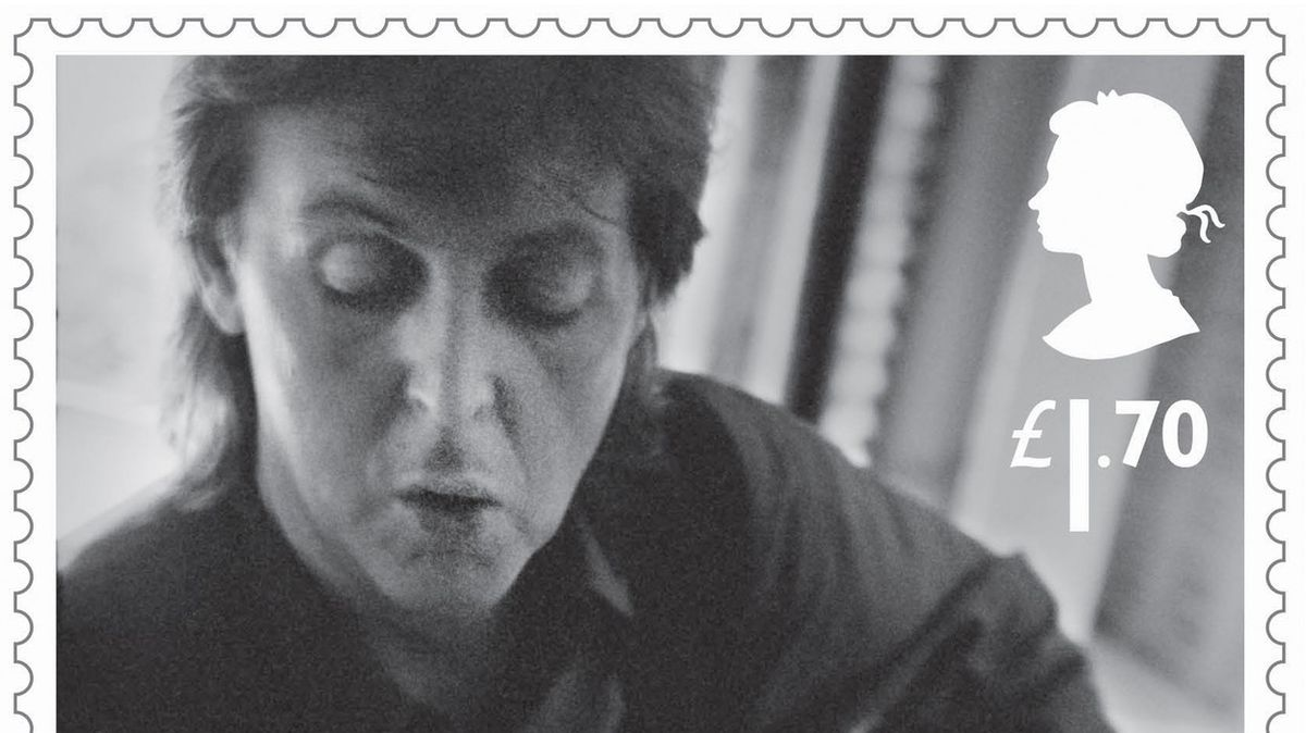 Britská pošta vydá sadu známek se zpěvákem Paulem McCartneym