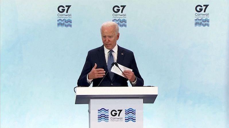 Další omyl v proslovu. Americký prezident Biden zaměnil Sýrii s Libyí