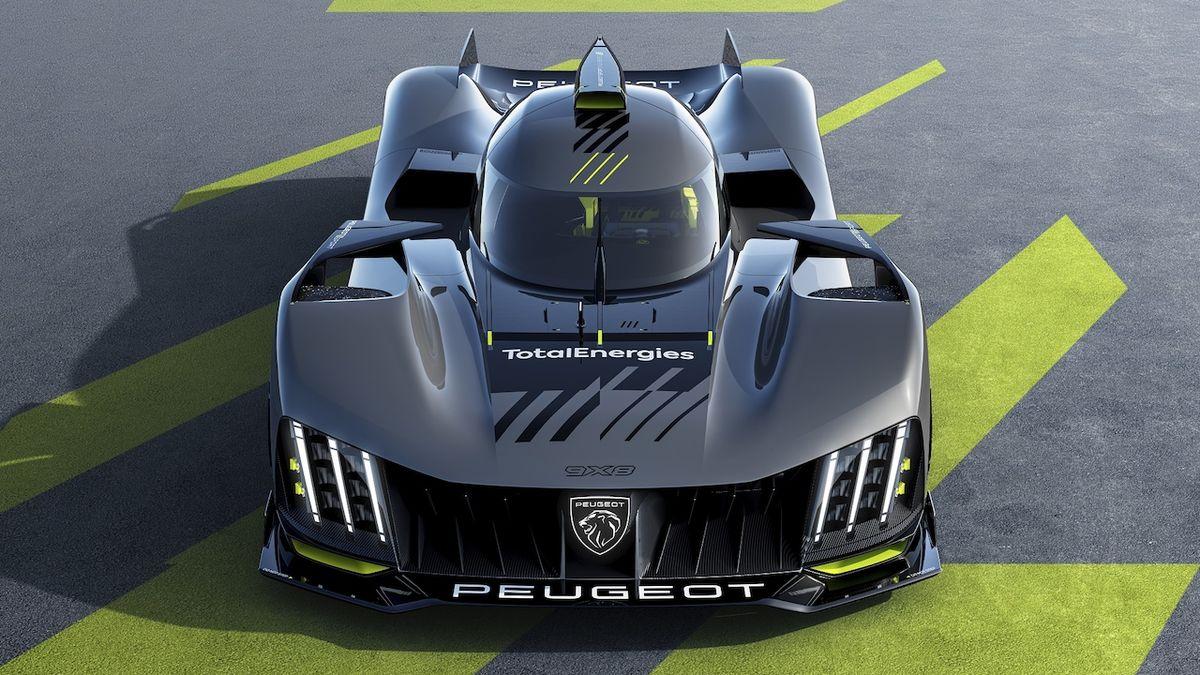 Peugeot ukazuje svůj hypersport na Le Mans, nemá zadní křídlo