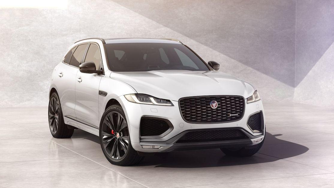 Jaguar F-Pace dostal černý dynamický balíček. I pro ostré SVR