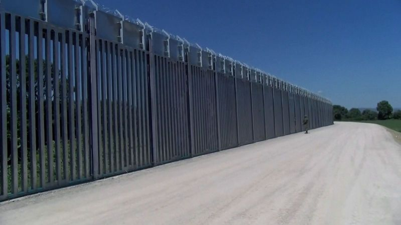 Řecko na hranicích dokončilo plot proti Afgháncům