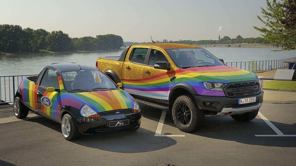 Ford Very Gay Raptor je třpytivou odpovědí na komentář fanouška