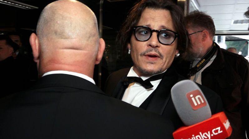 Johnny Depp ve Varech: Chtěl bych tady žít