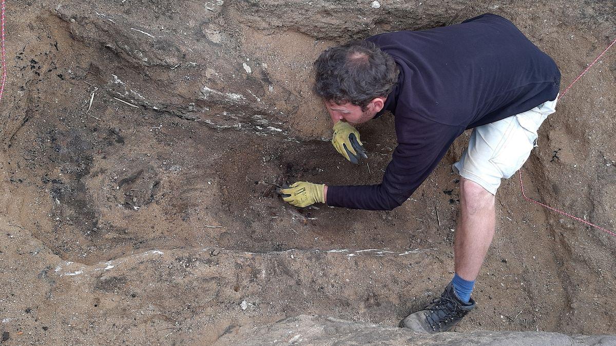 Mohyla pod Řípem ukrývala dětský hrob