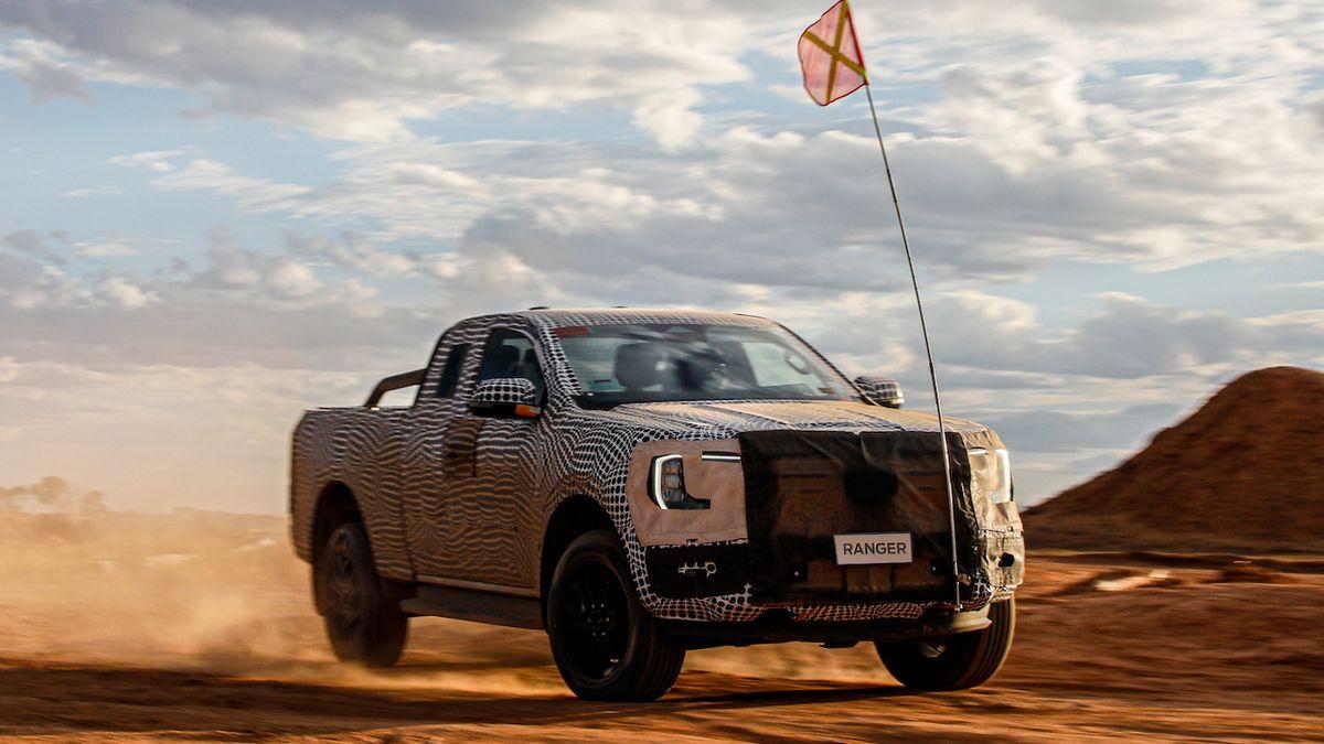 Ford poprvé ukazuje nový Ranger, dorazí ještě letos