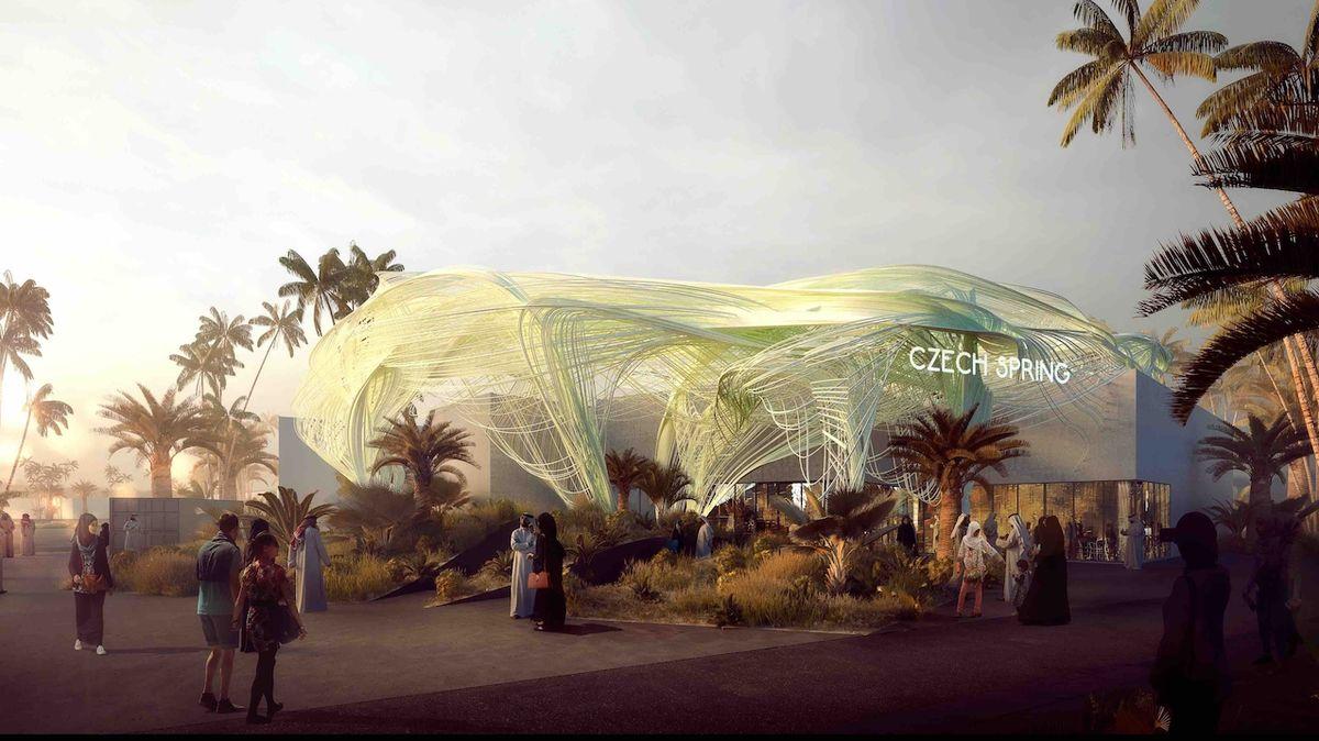 Český pavilon v Dubaji představil unikátní novinku.