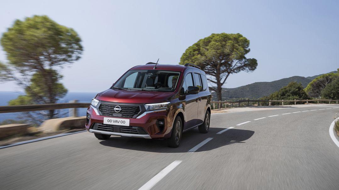 Nissan Townstar přijíždí jako třetí do party, k mání bude i elektrická varianta
