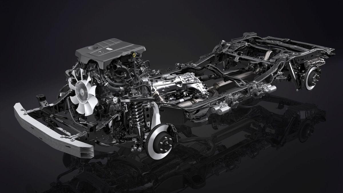 Lexus LX má za základ stále podvozkový rám.
