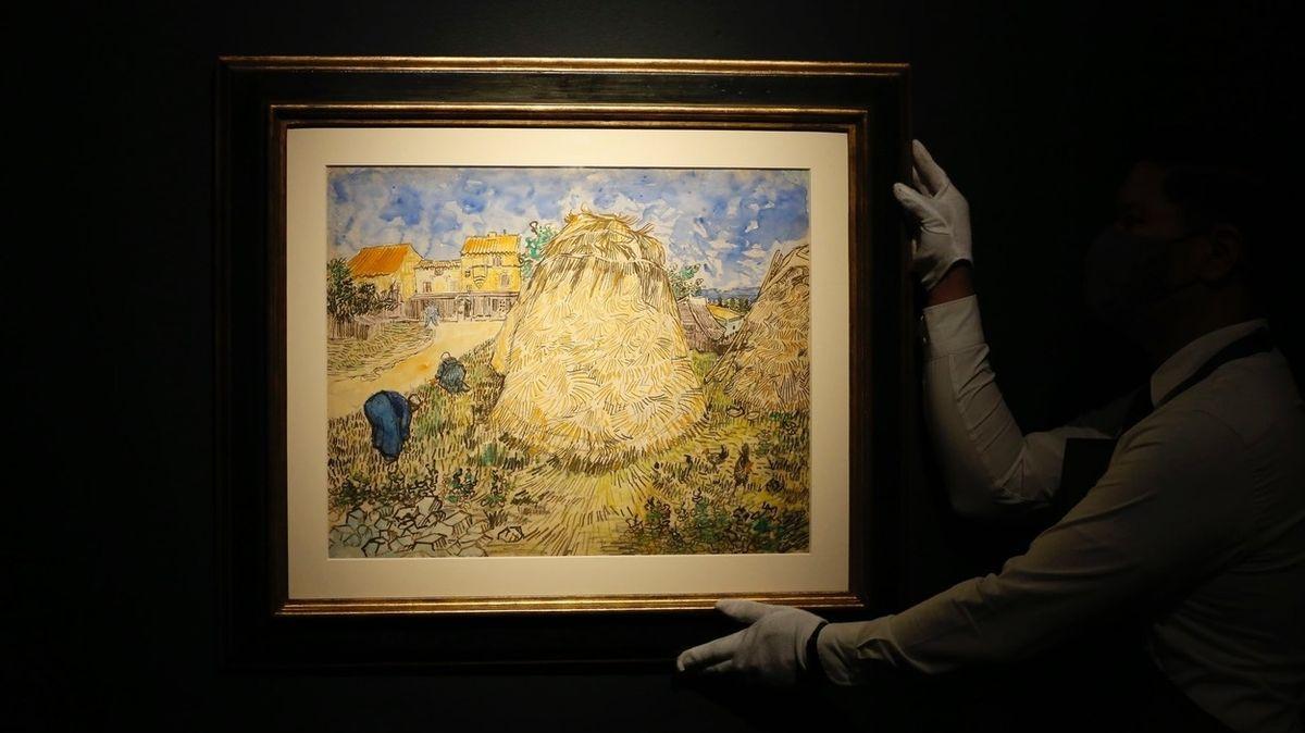 Nacisty uloupený van Gogh má vynést stovky milionů