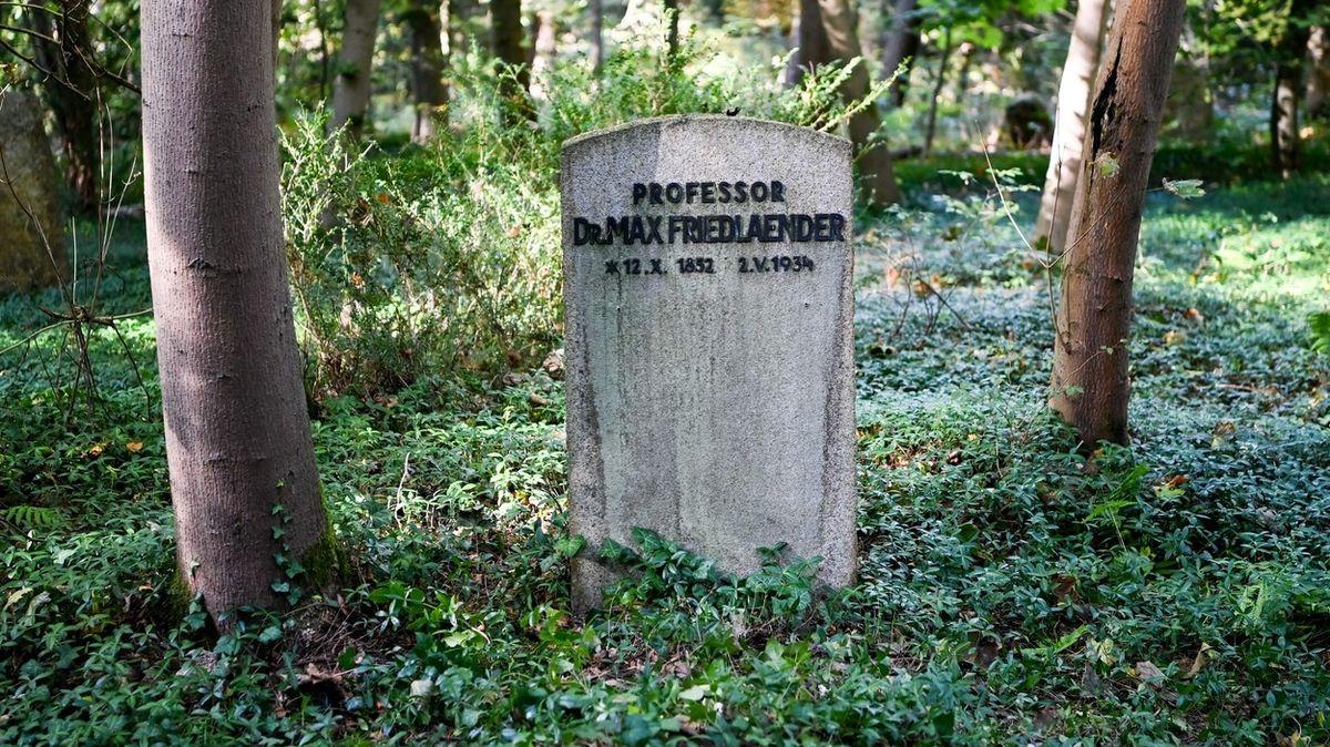 Náhrobek Maxe Friedlaendera