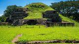 Mayové postavili mohutnou pyramidu, aby je ochránila před dalším výbuchem sopky