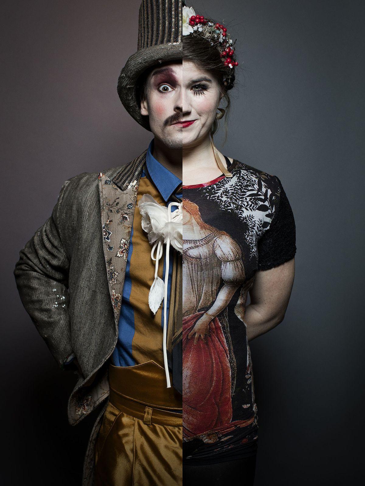 Ukázka její práce v představení Roots. Zachycuje historii cirkusové profese.