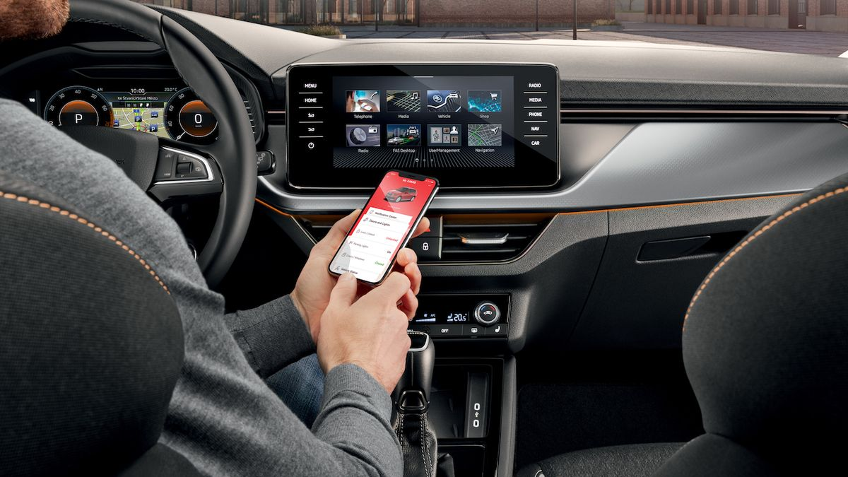 Škoda slučuje své mobilní aplikace do jedné