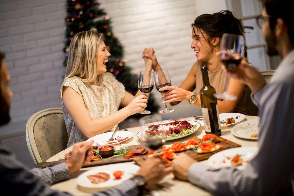 Silvestrovská party v domácím prostředí