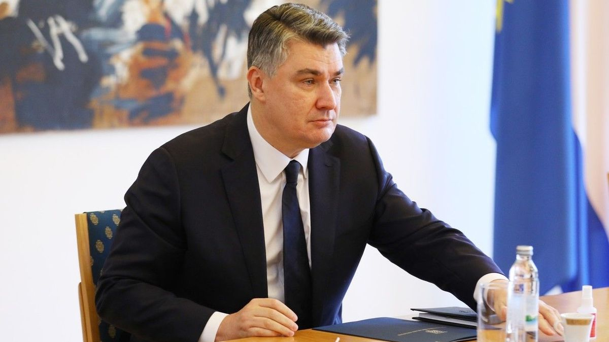 Koupil bych vakcínu i od mafie, řekl chorvatský prezident