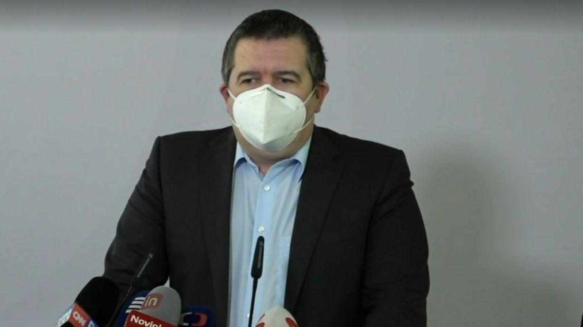 Tisková konference ČSSD k aktuální politické situaci