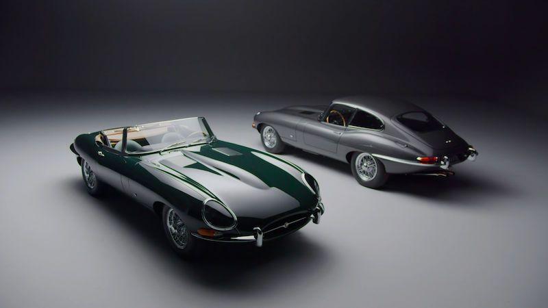 Inspirováno příběhem zběsilé jízdy na premiéru. Jaguar nabízí 12 klasických E-Type