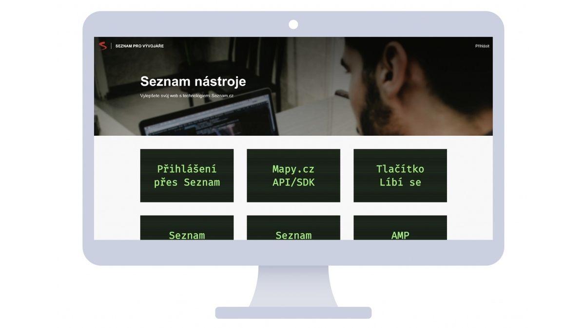 Všechny užitečné nástroje na jednom místě. Seznam.cz spustil nový web pro vývojáře