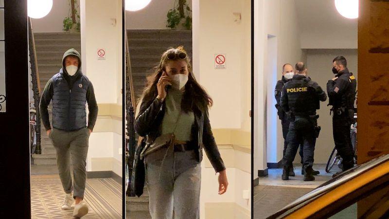 Policie v centru Prahy rozpustila nelegální noční večírek