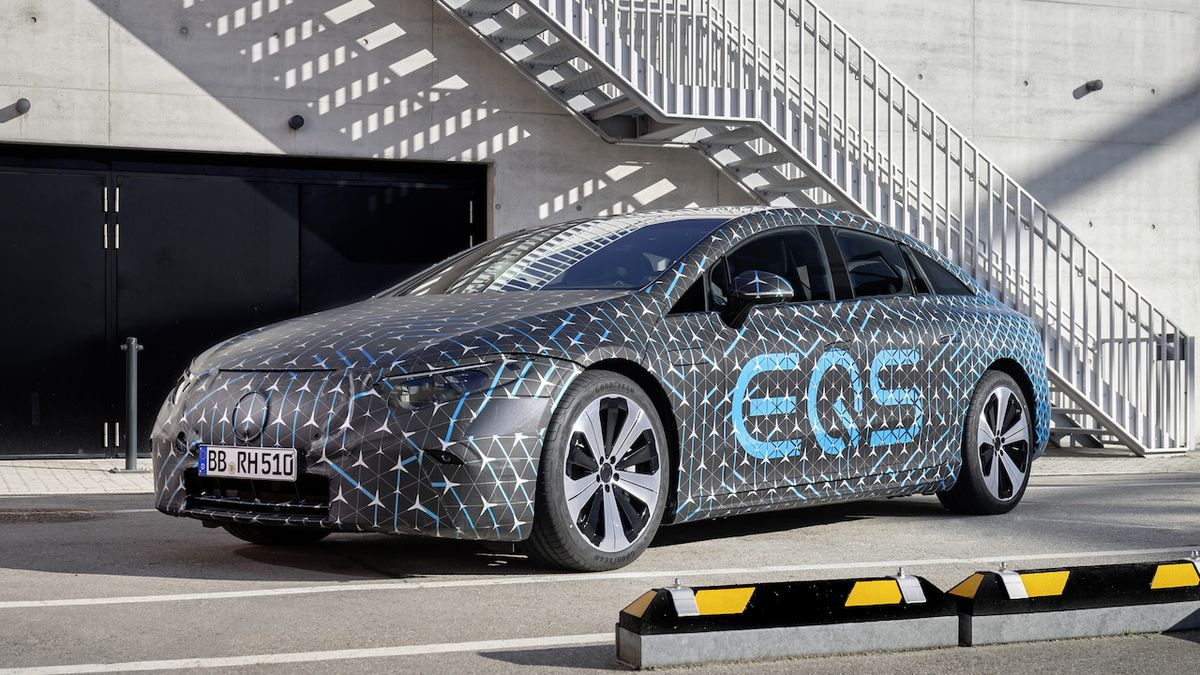 Vlajkový elektrický Mercedes slibuje dojezd 770 km a velmi rychlé nabíjení