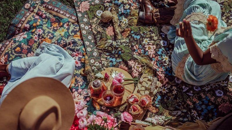 Koberce s motivy květin rozzáří jarní i letní interiéry