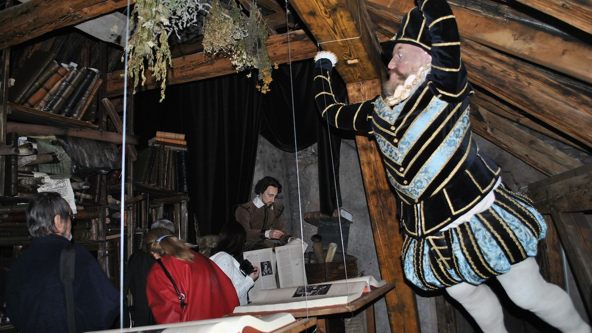 Magickou rudolfínskou Prahou vás při výbuchu provede slovutný magistr Kelley