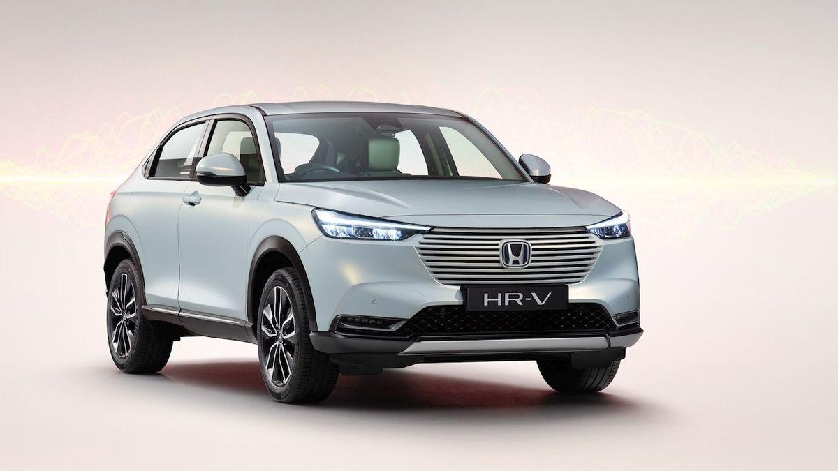 Honda představila nové HR-V, bude výhradně hybridní
