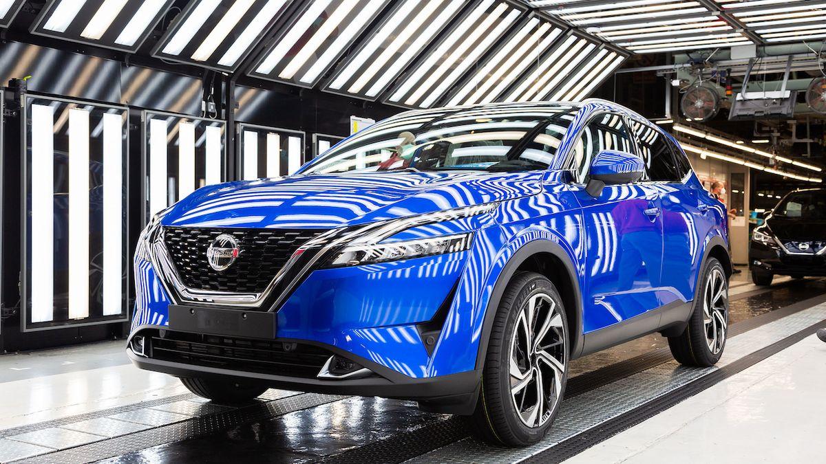 Nissan začal vyrábět nový qashqai, v Británii se i vyvíjel