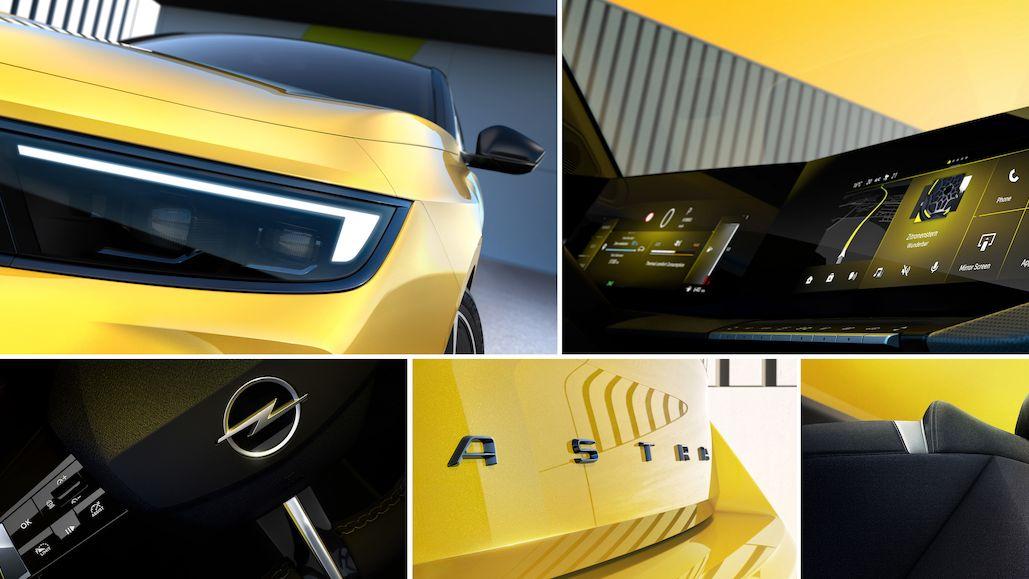 Nový Opel Astra se ukazuje na prvních snímcích