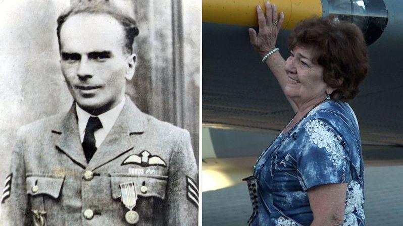 Svého otce nikdy nespatřila, vojenský pilot Krátkoruký smolně zemřel nad kanálem La Manche