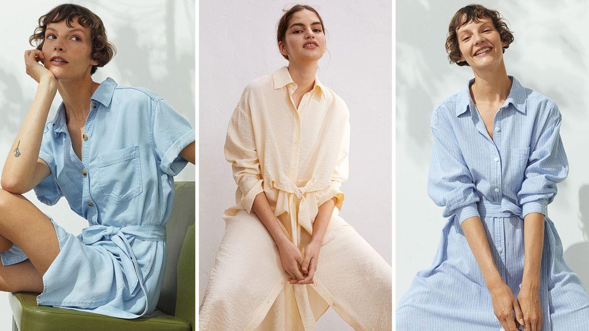 Košilové šaty: Jaké si vybrat a jak je nosit