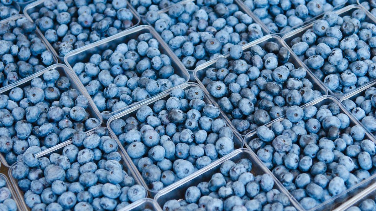 Sypké ovoce jako borůvky se má prodávat na váhu, ne na litry, upozornila inspekce