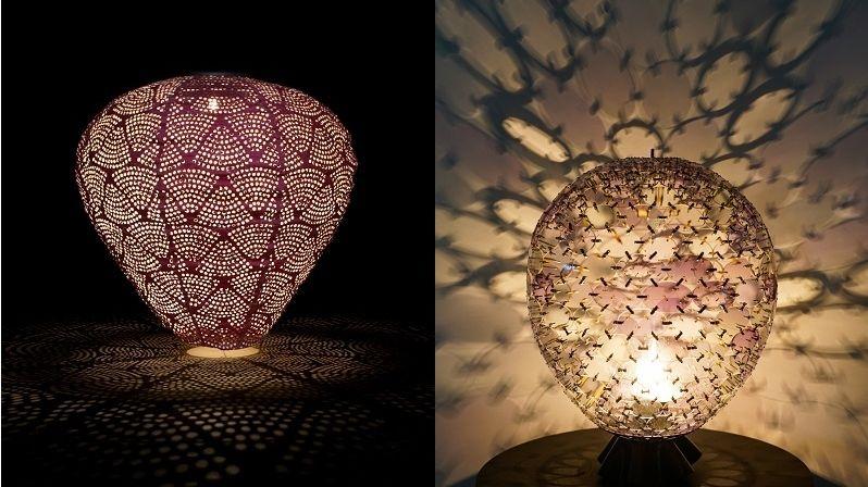 Perforovaná a speciálně tvarovaná stínidla promění okolí v dekoraci