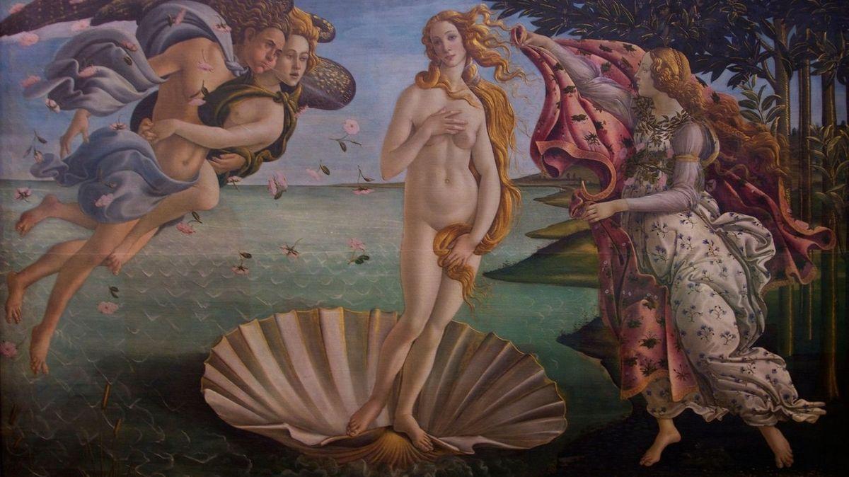 Odstraňte z pornoserveru Zrození Venuše, vyzvalo italské muzeum