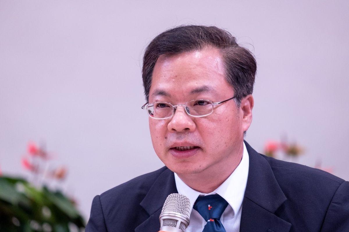 Šéf tchajwanské Národní rozvojové rady Kung Ming-hsin.