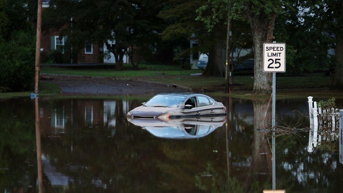OBRAZEM: Po hurikánu Ida je sever USA zaplaven