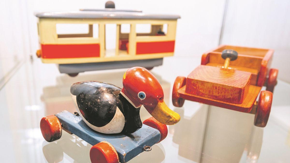 Dřevěné hračky z Krušných hor potěší malé i velké