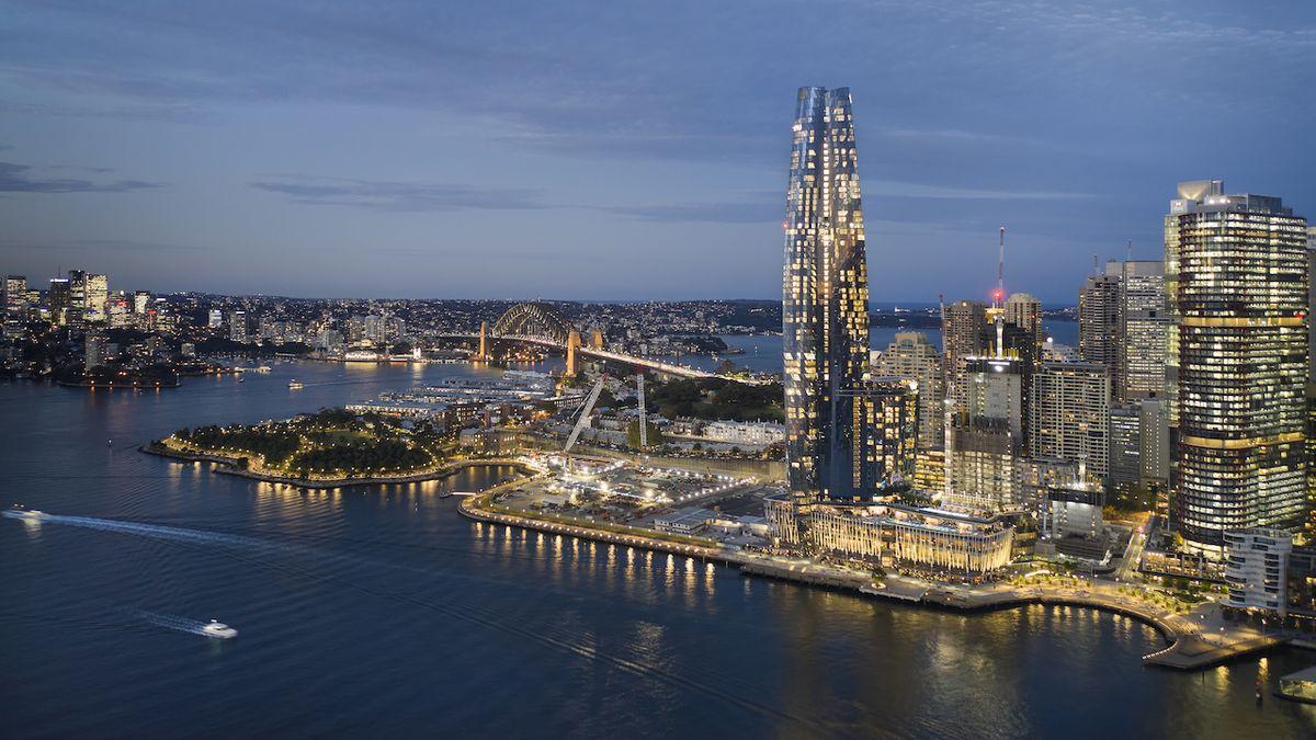 Štíhlý květ z Austrálie se stal nejlepším mrakodrapem roku