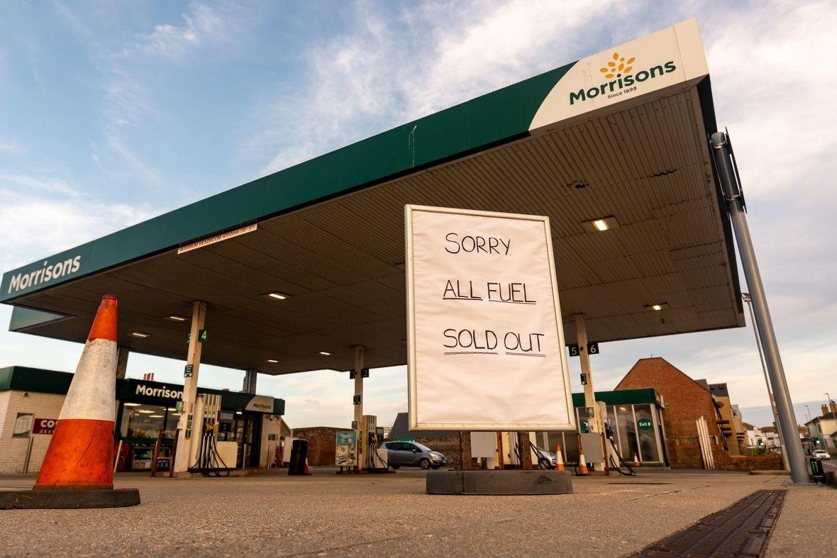 Británii postihl nedostatek pohonných hmot.