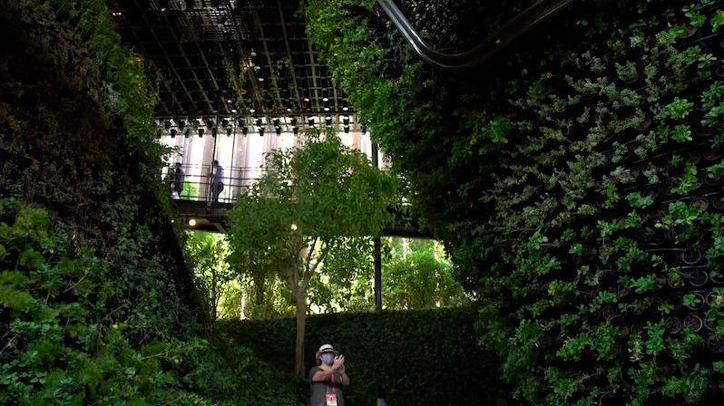 Nejzelenější pavilon na Expu mají Singapurci