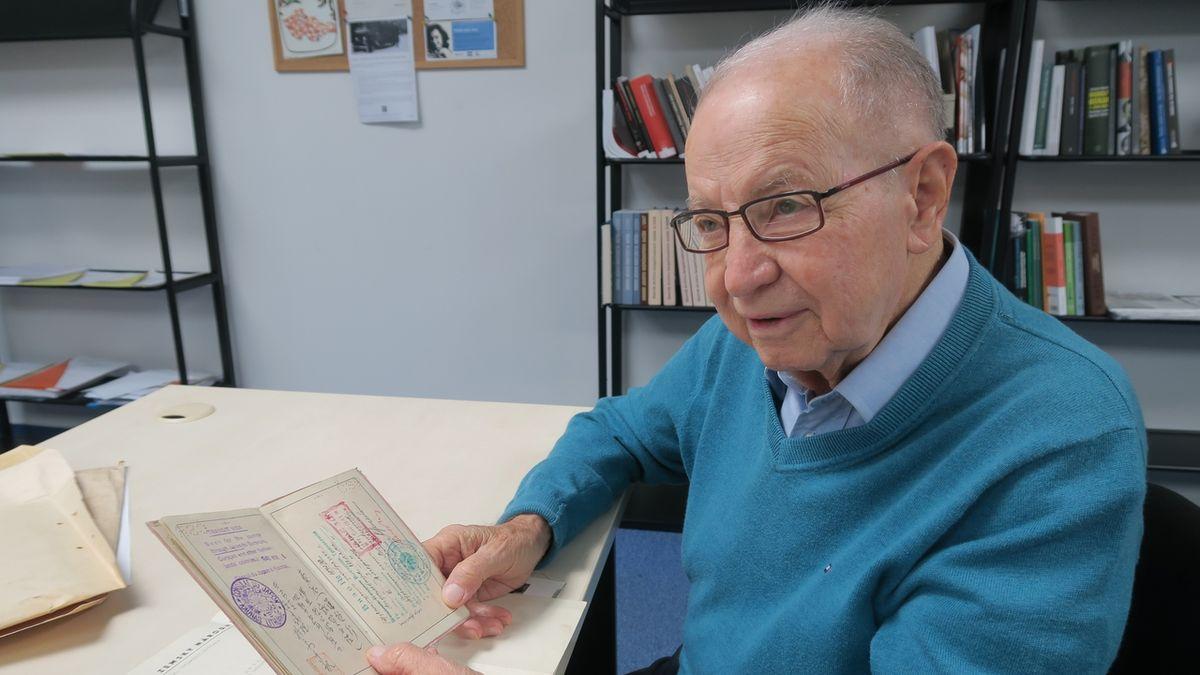 V Izraeli zemřel 6. října 2021 československý letec Petr Arton (na archivním snímku z 2. února 2017)
