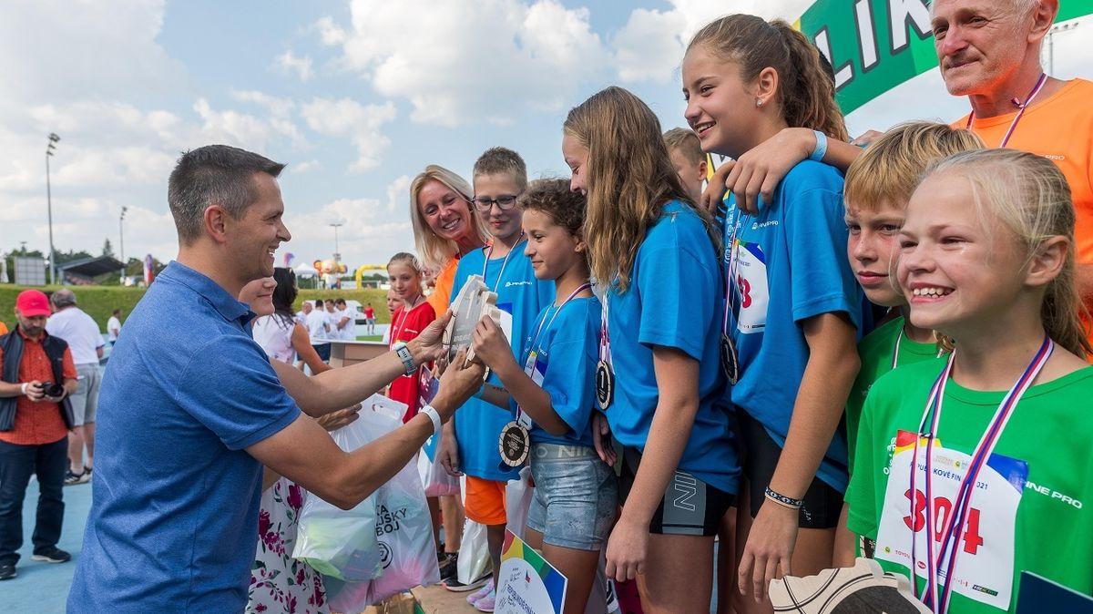 Vříjnu startuje další ročník Sazka Olympijského víceboje, zapojte svoje děti
